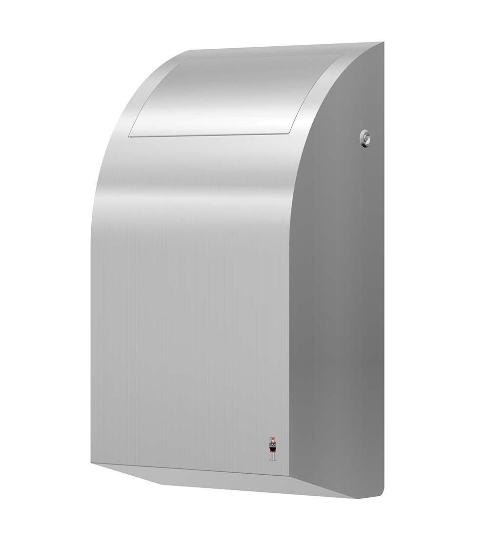 Stainless Design Abfallbehälter 30L