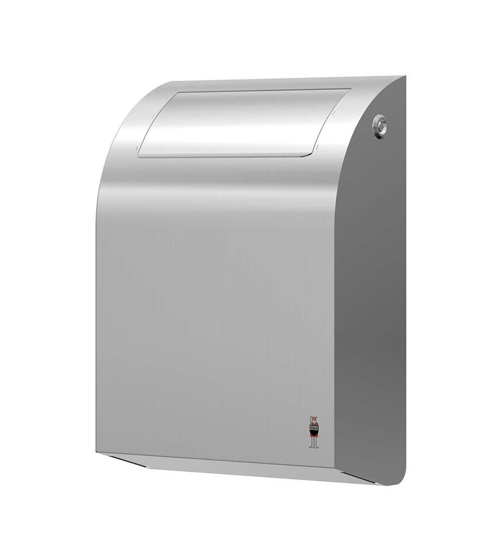 Stainless Design Abfallbehälter