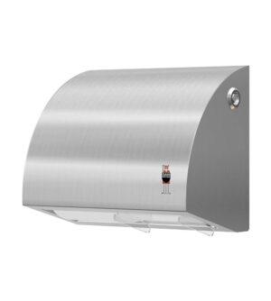 Stainless Design Toilettenpapierhalter für 2 Rollen