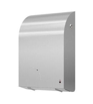 Stainless Design Toilettenpapierhalter für 1 Maxi-Rolle + 1